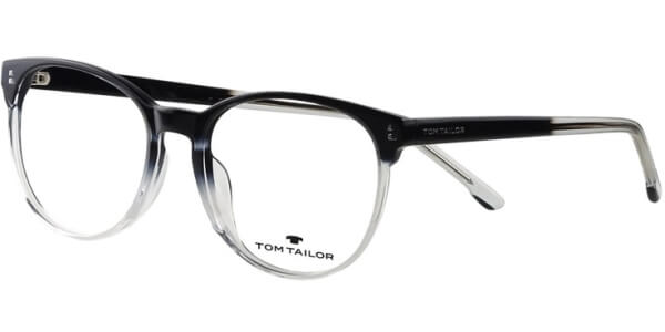 Dioptrické brýle Tom Tailor model 60537, barva obruby černá čirá lesk, stranice černá čirá lesk, kód barevné varianty 114.