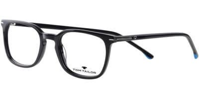 Dioptrické brýle Tom Tailor model 60544, barva obruby černá lesk, stranice černá lesk, kód barevné varianty 133.
