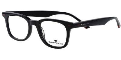 Dioptrické brýle Tom Tailor model 60558, barva obruby černá lesk, stranice černá lesk, kód barevné varianty 176.
