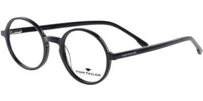 Dioptrické brýle Tom Tailor model 60566, barva obruby černá lesk, stranice černá lesk, kód barevné varianty 200.