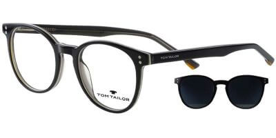 Dioptrické brýle Tom Tailor model 60572, barva obruby černá lesk, stranice černá lesk, kód barevné varianty 237.