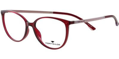 Dioptrické brýle Tom Tailor model 60573, barva obruby růžová lesk, stranice růžová mat, kód barevné varianty 206.