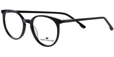 Dioptrické brýle Tom Tailor model 60582, barva obruby černá čirá lesk, stranice černá čirá lesk, kód barevné varianty 248.