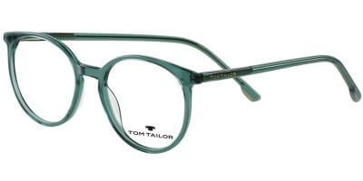 Dioptrické brýle Tom Tailor model 60582, barva obruby zelená čirá lesk, stranice zelená čirá lesk, kód barevné varianty 249.
