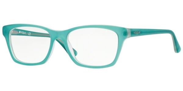 Dioptrické brýle Vogue model 2714, barva obruby tyrkysová mat, stranice tyrkysová mat, kód barevné varianty 2181S.