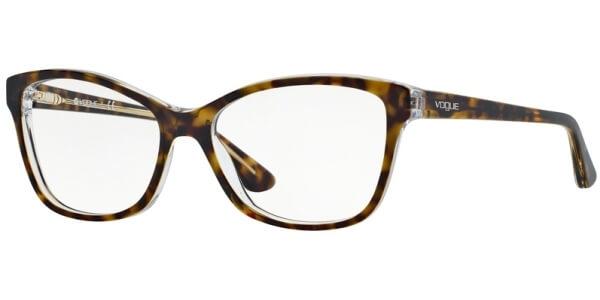 Dioptrické brýle Vogue model 2740, barva obruby hnědá lesk, stranice hnědá lesk, kód barevné varianty 1916.