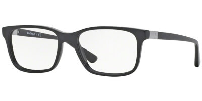 Dioptrické brýle Vogue model 2746, barva obruby černá lesk, stranice černá stříbrná lesk, kód barevné varianty W44.