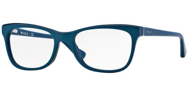 Dioptrické brýle Vogue model 2763, barva obruby tyrkysová lesk, stranice tyrkysová lesk, kód barevné varianty 2134.