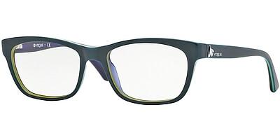 Dioptrické brýle Vogue model 2767, barva obruby zelená lesk, stranice zelená lesk, kód barevné varianty 1989.
