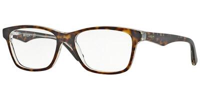 Dioptrické brýle Vogue model 2787, barva obruby hnědá čirá lesk, stranice hnědá čirá lesk, kód barevné varianty 1916.