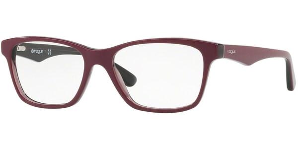 Dioptrické brýle Vogue model 2787, barva obruby fialová lesk, stranice fialová lesk, kód barevné varianty 2584.