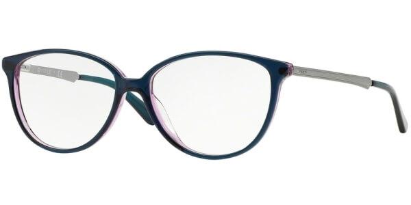 Dioptrické brýle Vogue model 2866, barva obruby zelená fialová lesk, stranice stříbrná lesk, kód barevné varianty 2267.
