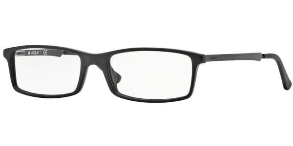 Dioptrické brýle Vogue model 2867, barva obruby černá mat, stranice černá mat, kód barevné varianty W44S.