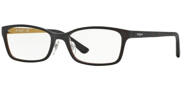 Dioptrické brýle Vogue model 2877, barva obruby hnědá mat, stranice hnědá mat, kód barevné varianty 2217S.