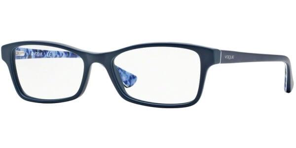 Dioptrické brýle Vogue model 2886, barva obruby modrá mat, stranice modrá mat, kód barevné varianty 2225.
