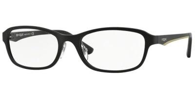 Dioptrické brýle Vogue model 2902, barva obruby černá mat, stranice černá mat, kód barevné varianty W44S.