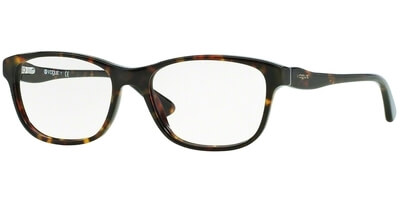 Dioptrické brýle Vogue model 2908, barva obruby hnědá lesk, stranice hnědá lesk, kód barevné varianty W656.