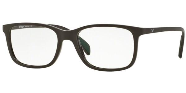 Dioptrické brýle Vogue model 2912, barva obruby hnědá mat, stranice hnědá mat, kód barevné varianty 2252.