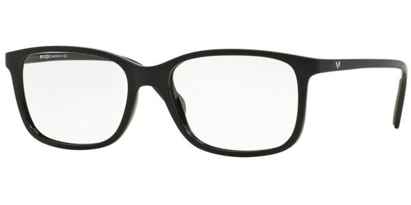 Dioptrické brýle Vogue model 2912, barva obruby černá mat, stranice černá mat, kód barevné varianty W44.