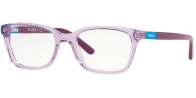 Dioptrické brýle Vogue model 2967, barva obruby fialová čirá lesk, stranice fialová lesk, kód barevné varianty 2686.