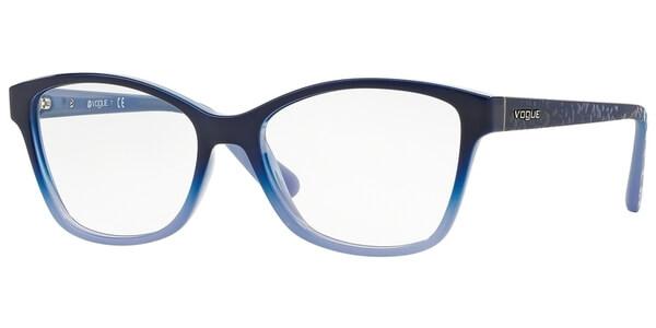 Dioptrické brýle Vogue model 2998, barva obruby modrá lesk, stranice modrá mat, kód barevné varianty 2346.