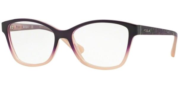 Dioptrické brýle Vogue model 2998, barva obruby fialová béžová lesk, stranice fialová béžová lesk, kód barevné varianty 2347.