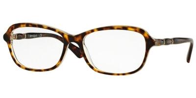 Dioptrické brýle Vogue model 2999B, barva obruby hnědá lesk, stranice hnědá lesk, kód barevné varianty 1916.