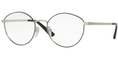 Dioptrické brýle Vogue model 4025, barva obruby černá stříbrná lesk, stranice stříbrná lesk, kód barevné varianty 352.