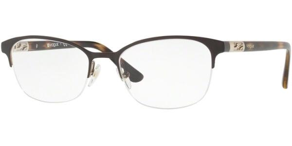 Dioptrické brýle Vogue model 4067, barva obruby hnědá lesk, stranice hnědá lesk, kód barevné varianty 997.