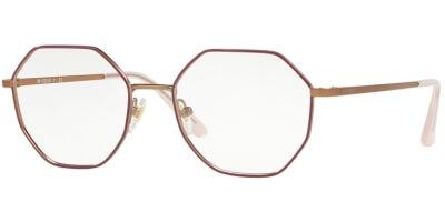 Dioptrické brýle Vogue model 4094, barva obruby růžová zlatá lesk, stranice zlatá mat, kód barevné varianty 5089.