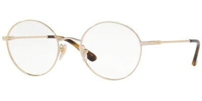 Dioptrické brýle Vogue model 4127, barva obruby zlatá lesk, stranice zlatá lesk, kód barevné varianty 848.