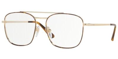 Dioptrické brýle Vogue model 4140, barva obruby zlatá hnědá lesk, stranice zlatá lesk, kód barevné varianty 5078.