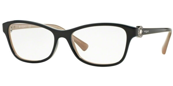Dioptrické brýle Vogue model 5002B, barva obruby modrá lesk, stranice modrá lesk, kód barevné varianty 2350.