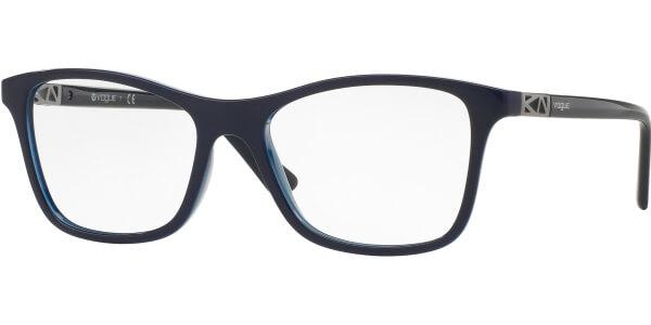 Dioptrické brýle Vogue model 5028, barva obruby modrá lesk, stranice modrá lesk, kód barevné varianty 2388.