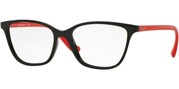 Dioptrické brýle Vogue model 5029, barva obruby černá lesk, stranice červená lesk, kód barevné varianty 2392.