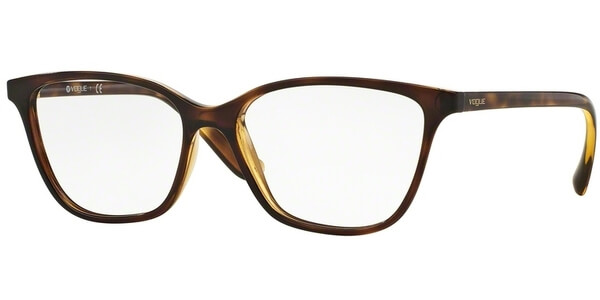 Dioptrické brýle Vogue model 5029, barva obruby hnědá lesk, stranice hnědá lesk, kód barevné varianty W656.