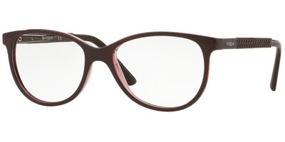 Dioptrické brýle Vogue model 5030, barva obruby vínová lesk, stranice vínová lesk, kód barevné varianty 2262.