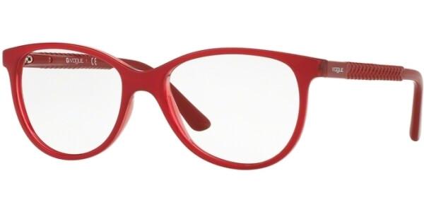 Dioptrické brýle Vogue model 5030, barva obruby červená lesk, stranice červená lesk, kód barevné varianty 2470.