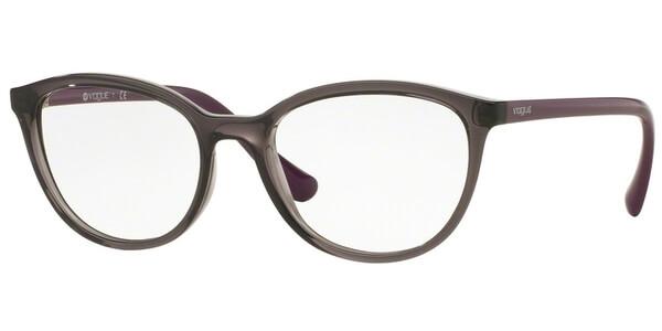 Dioptrické brýle Vogue model 5037, barva obruby šedá lesk, stranice fialová lesk, kód barevné varianty 1905.
