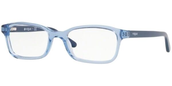 Dioptrické brýle Vogue model 5070, barva obruby modrá čirá lesk, stranice modrá lesk, kód barevné varianty 2743.
