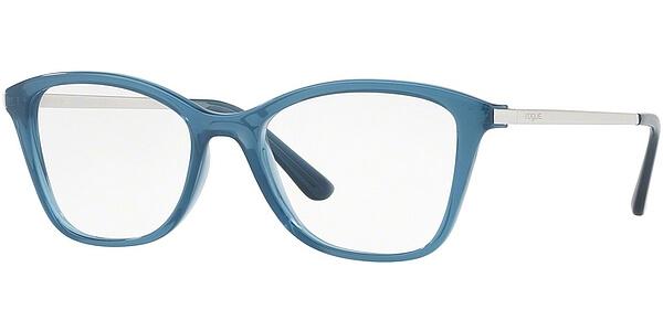 Dioptrické brýle Vogue model 5152, barva obruby modrá lesk, stranice stříbrná lesk, kód barevné varianty 2534.