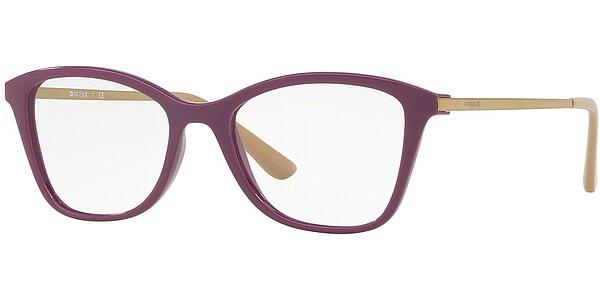 Dioptrické brýle Vogue model 5152, barva obruby fialová lesk, stranice zlatá lesk, kód barevné varianty 2592.