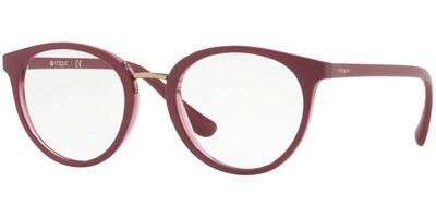 Dioptrické brýle Vogue model 5167, barva obruby vínová lesk, stranice vínová lesk, kód barevné varianty 2555.
