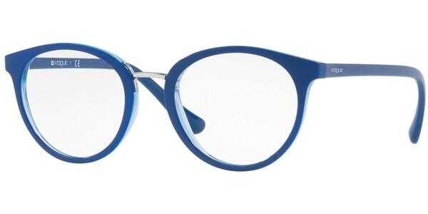 Dioptrické brýle Vogue model 5167, barva obruby modrá lesk, stranice modrá lesk, kód barevné varianty 2556.