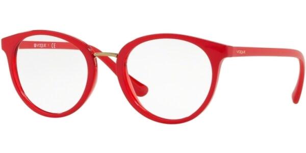 Dioptrické brýle Vogue model 5167, barva obruby červená lesk, stranice červená lesk, kód barevné varianty 2621.