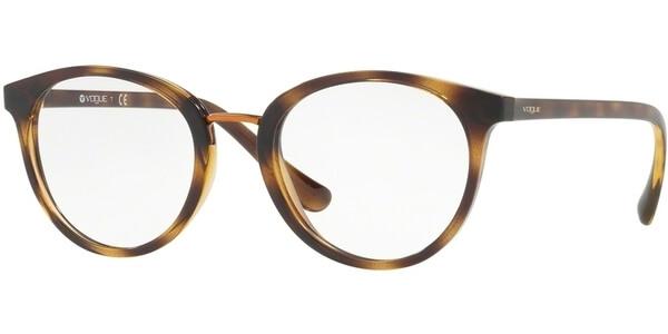 Dioptrické brýle Vogue model 5167, barva obruby hnědá lesk, stranice hnědá lesk, kód barevné varianty W656.