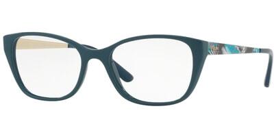 Dioptrické brýle Vogue model 5190, barva obruby zelená lesk, stranice zelená zlatá lesk, kód barevné varianty 2463.