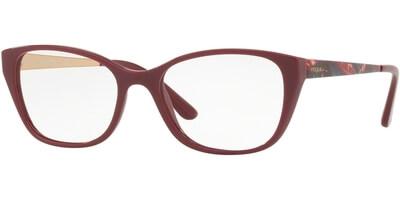 Dioptrické brýle Vogue model 5190, barva obruby červená lesk, stranice červená zlatá lesk, kód barevné varianty 2566.