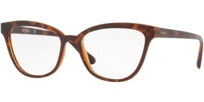 Dioptrické brýle Vogue model 5202, barva obruby hnědá mat, stranice hnědá mat, kód barevné varianty 2386.