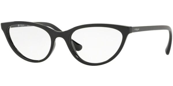 Dioptrické brýle Vogue model 5213, barva obruby černá lesk, stranice černá lesk, kód barevné varianty W44.